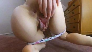 how to take a big dildo