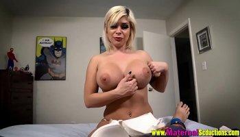 blonde slut gets fucked